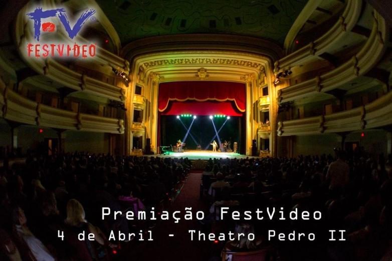 Theatro Pedro II será palco da grande noite de premiação do FestVideo