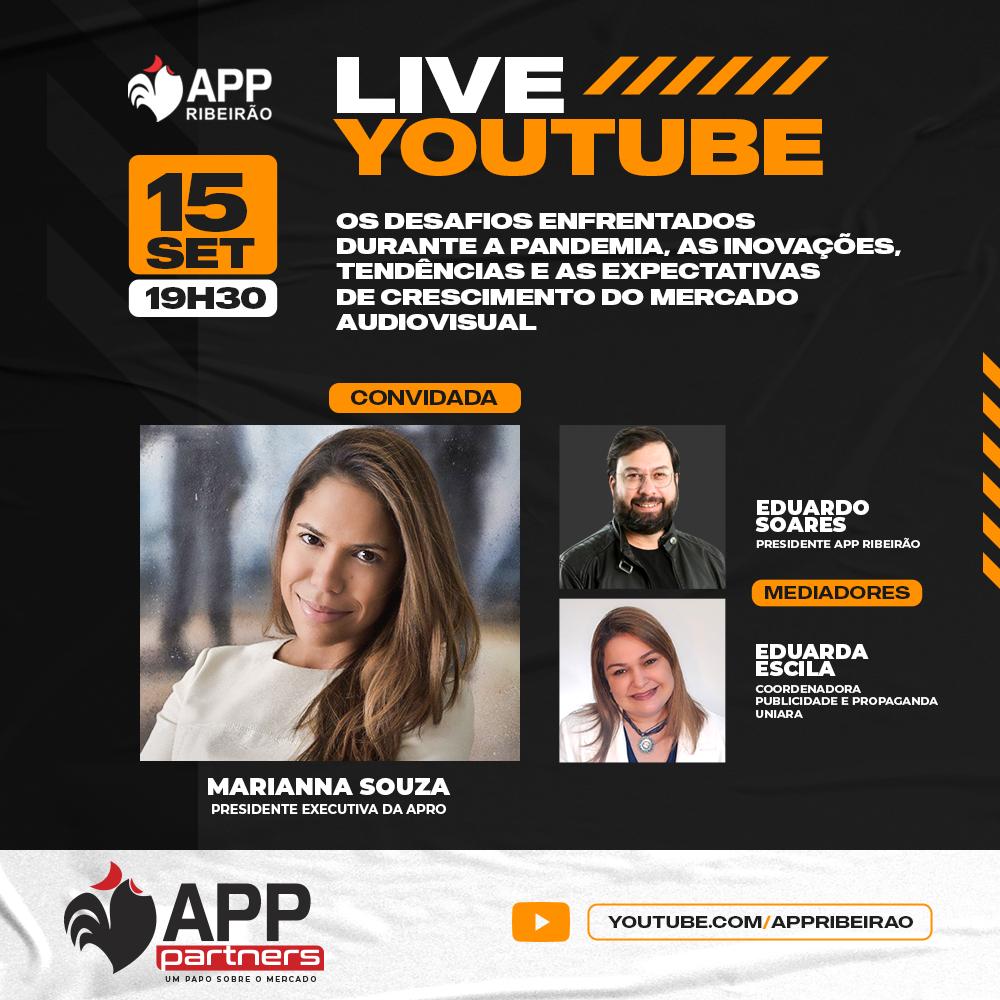 APP Ribeirão aborda audiovisual e influência no APP Partners