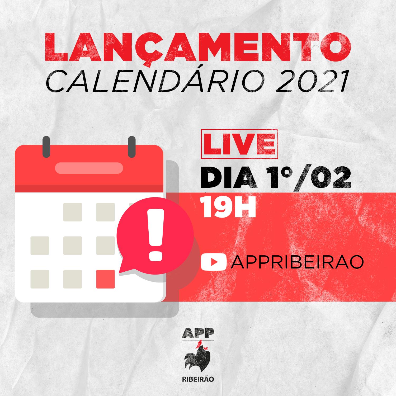 APP Ribeirão divulga calendário de 2021