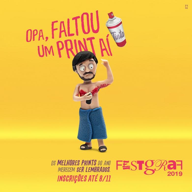FestGraf 2019 - Inscrições até dia 8 de novembro
