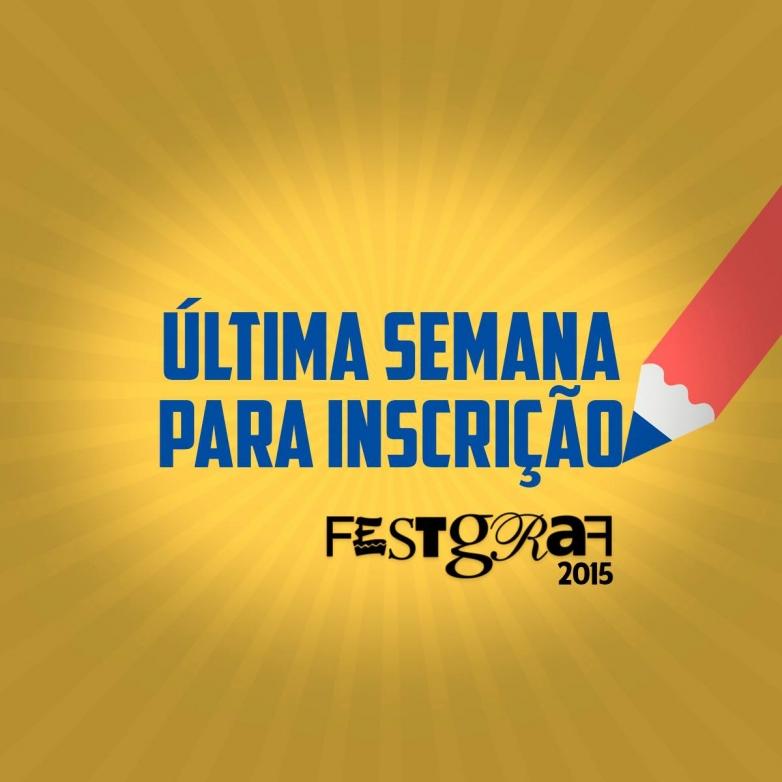 Última semana de inscrições para o maior festival de publicidade de mídia impressa do interior.