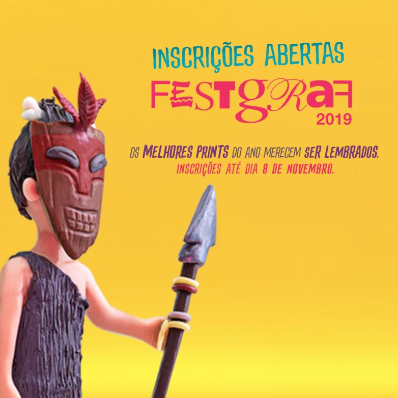 FestGraf 2019 - Inscrições abertas