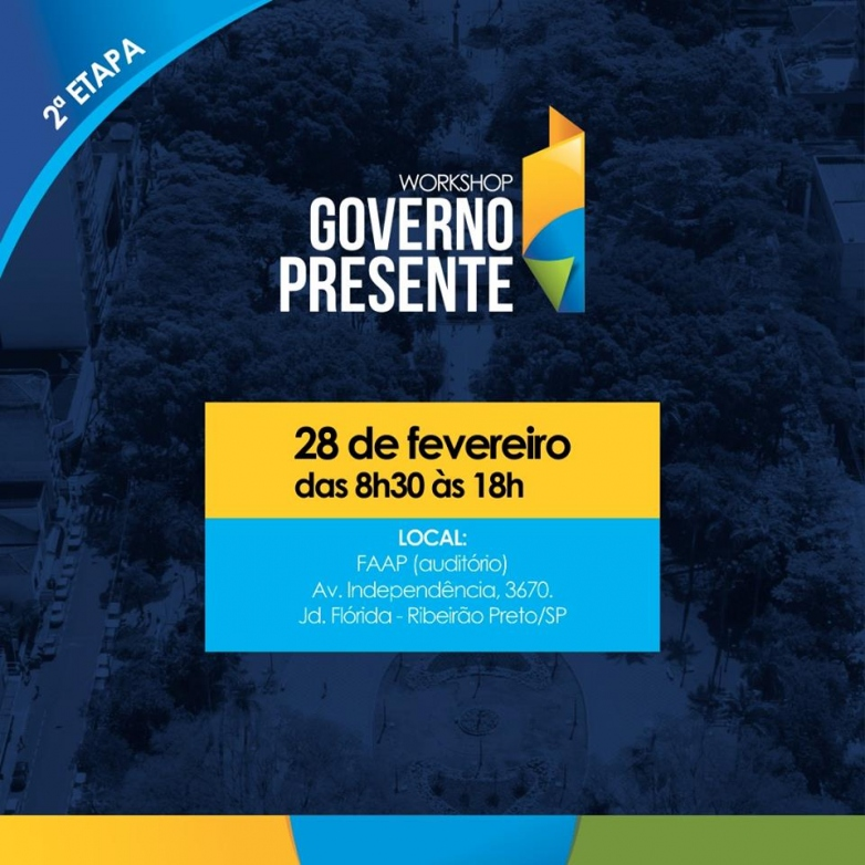 Workshop Governo Presente - 2ª Etapa