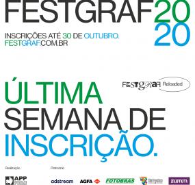 Inscrições para o FestGraf vão até o dia 30 de outubro