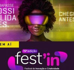 Fest'In agora é Festival de Inovação e Criatividade