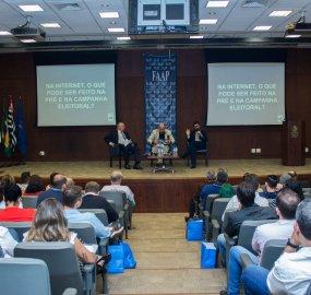 Workshop sobre publicidade governamental e propaganda eleitoral teve 185 pessoas de 34 cidades