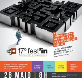 17ª Festin acontecerá dia 26 de maio