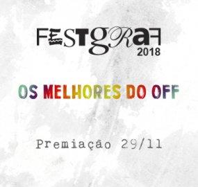 Premiação do FestGraf 2018 acontece no dia 29 de novembro.