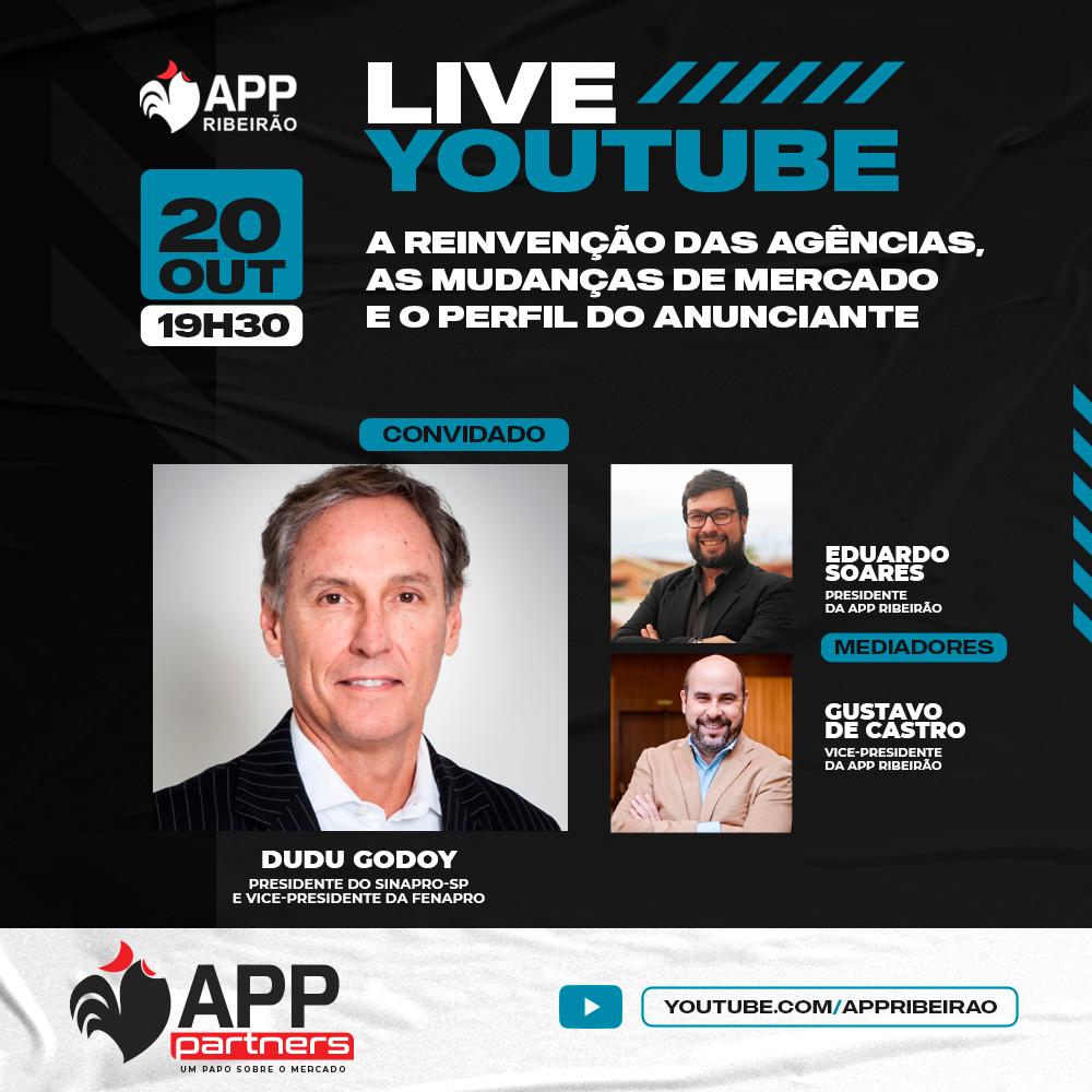 APP Ribeirão promove live sobre reinvenção das agências