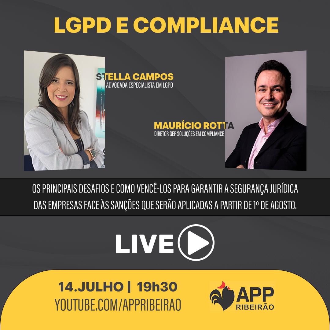 APP Ribeirão promove lives em julho sobre LGPD e o Mercado Digital