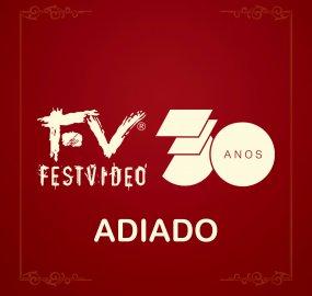 Premiação do FestVideo foi adiada para evitar a disseminação do coronavírus.