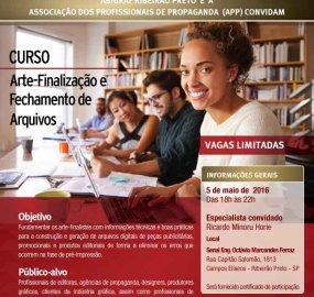 APP Ribeirão e ABIGRAF convidam para o Curso de Arte-Finalização e Fechamento de Arquivo