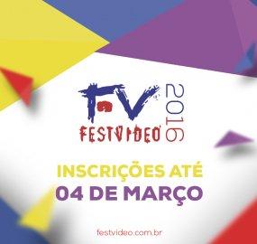 Inscrições para o FestVídeo 2016 vão até dia 4 de março.